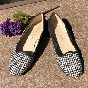 🎈NEW LISTING! Stubbs & Wootton Houndstooth Flats